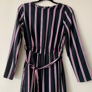 NWT  Who What Wear™ Long Sleeve Crew Neck Jumpsuit